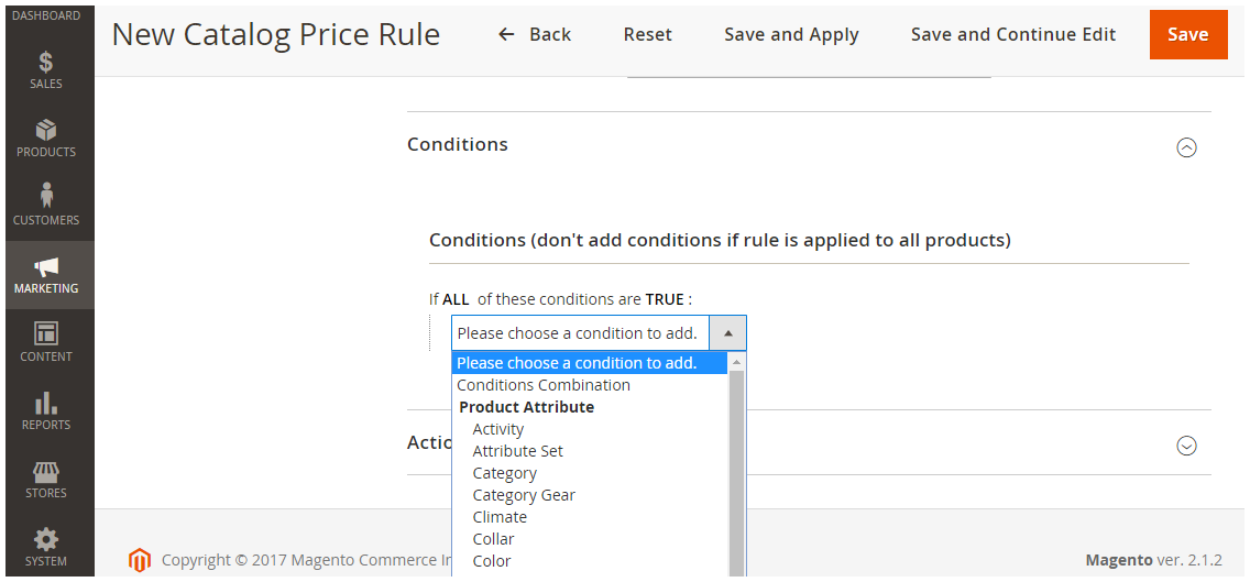 magento-2-catalog-price-rule-condition