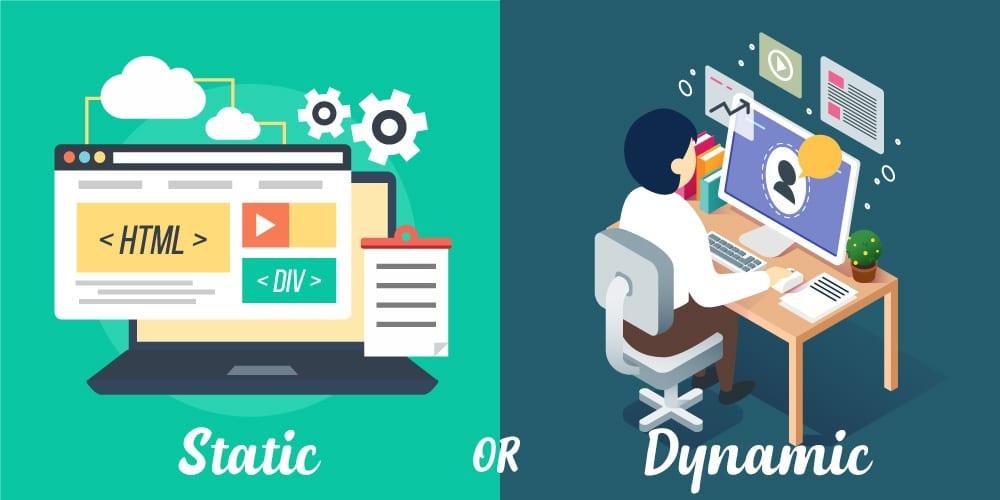 dynamic-static-url