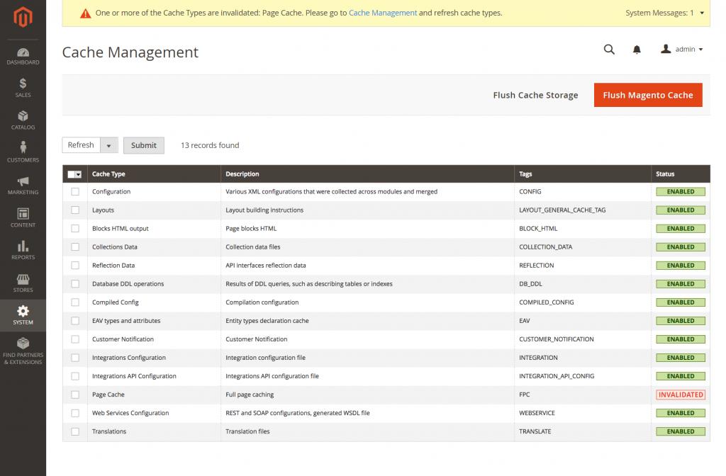 Cache-management