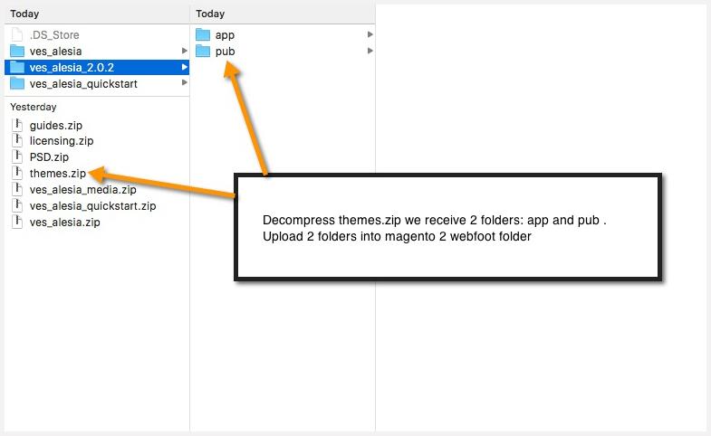 app-and-pub-folder-magento-2-themes