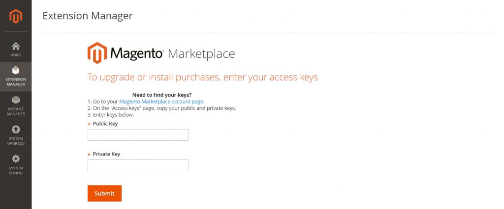 access-keys-magento-2-marketplace