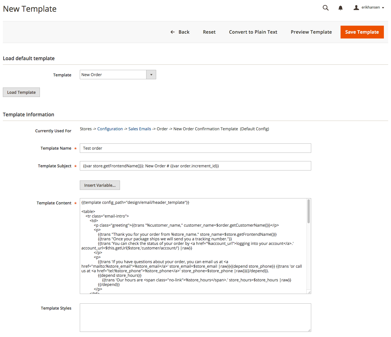 Magento-2-Email-Template