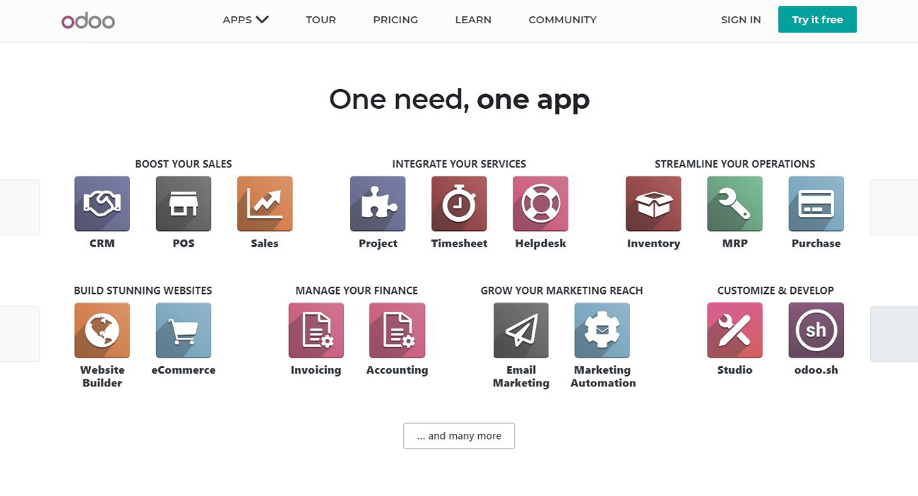 Odoo-features