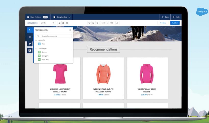 salesforce-commerce-cloud-page